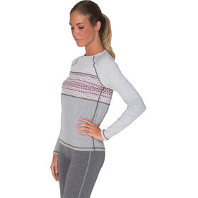 Varg W's Idre Baselayer Top Grey With Rubin